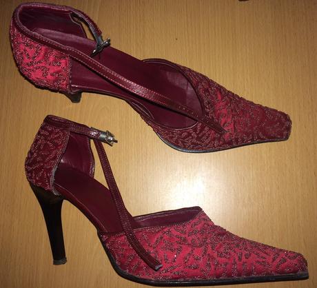 svatební / plesové boty lodičky + kabelka Zdarma, 39