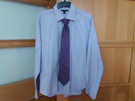 Košile (vel. L) + kravata zdarma, 40