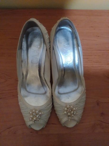 Svatební boty CAXA, 37