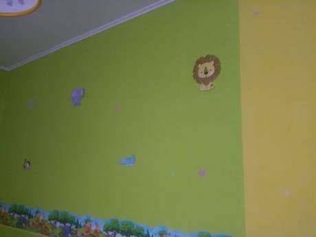 49-dielna sada nálepiek na stenu,