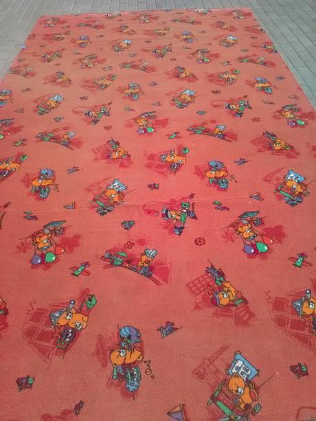 detský podlahový koberec 3,80x2m ,