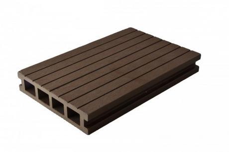 terasová doska 9ks s príchytkami farba chocolat,