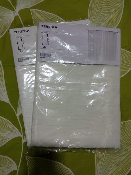 Závěsy Ikea TERESIA,