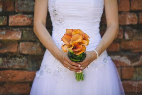 Bílé princeznovské/baletkovské svatební šaty v. 38, 38