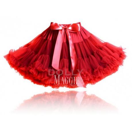 Dolly sukňa - Červená čiapočka - veľ.Petite,