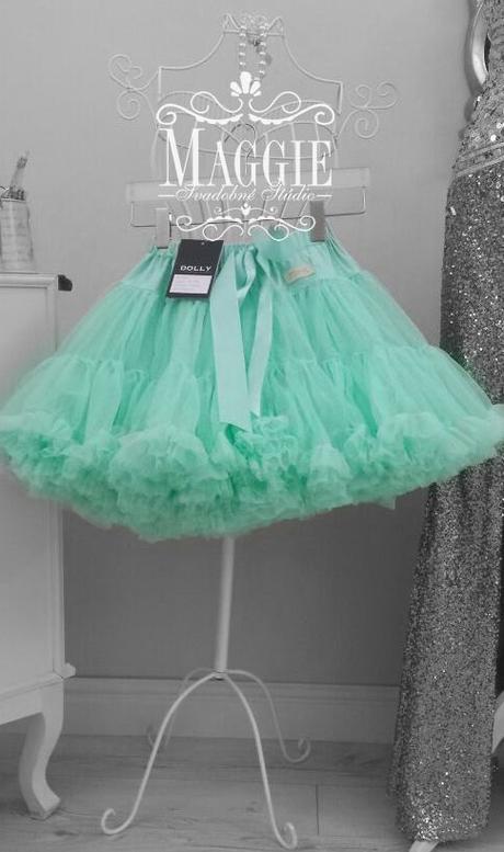 Dolly sukňa - Dúhová víla - veľ. L (34-38), L
