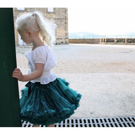Dolly sukňa - Modrý vtáčik veľkosť M,