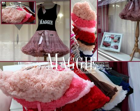 Dolly sukňa - Palculienka - veľ.M, M