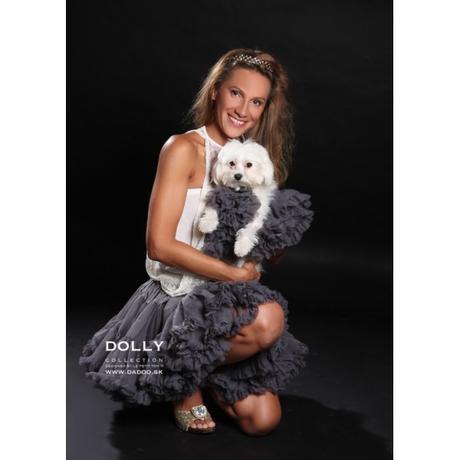 Dolly sukňa - Princezná na hrášku - veľ.XL(38-42), XL
