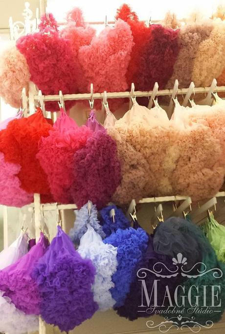 Dolly sukňa - Trblietavá ružová - veľ.L(34-38), L