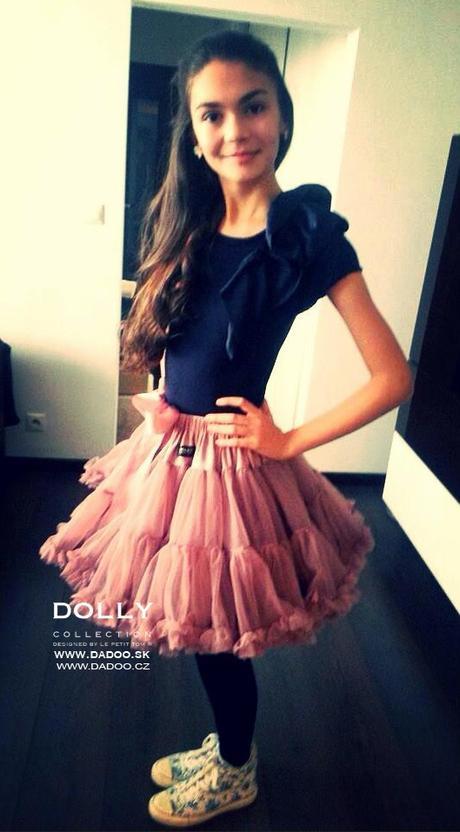 Dolly sukňa - veľkosť(6-8 rokov),