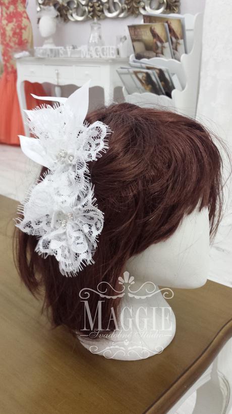 Elegantná Vintage vlasová ozdoba č.1,