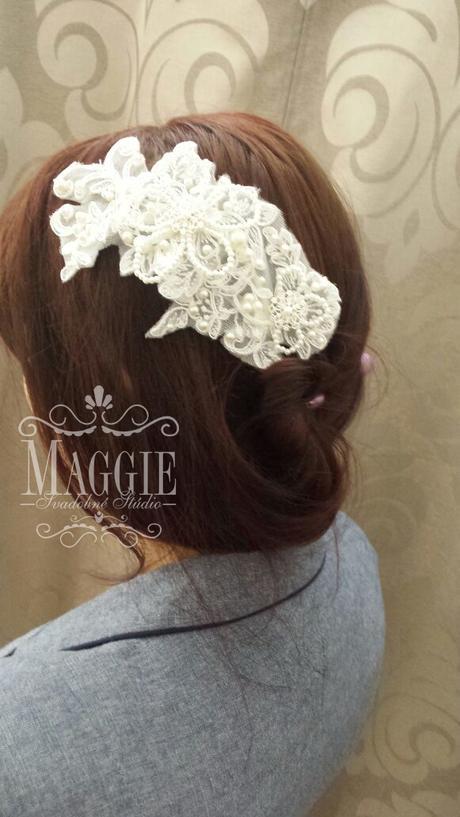 Elegantná Vintage vlasová ozdoba č.13,