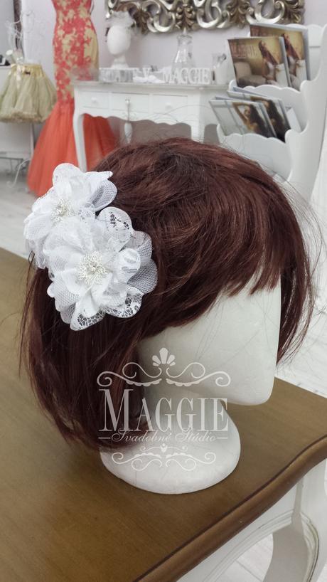 Elegantná Vintage vlasová ozdoba č.27,