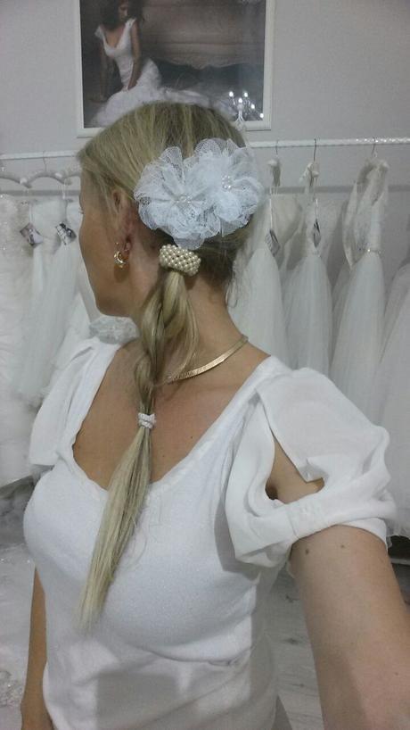 Elegantná vlasová ozdoba č.21,