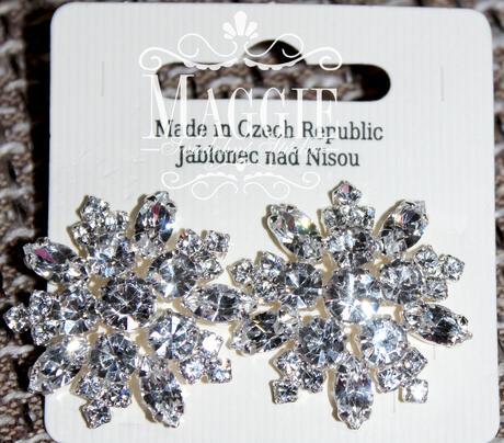 Luxusné náušnice Jablonecká bižutéria (kód 7103),