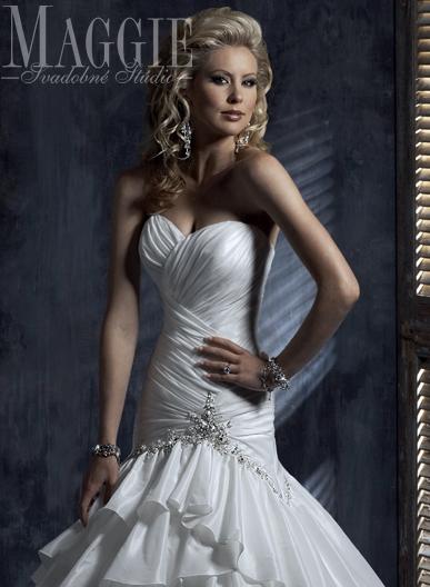 Maggie Sottero - Jenna - biela (34-38), 36