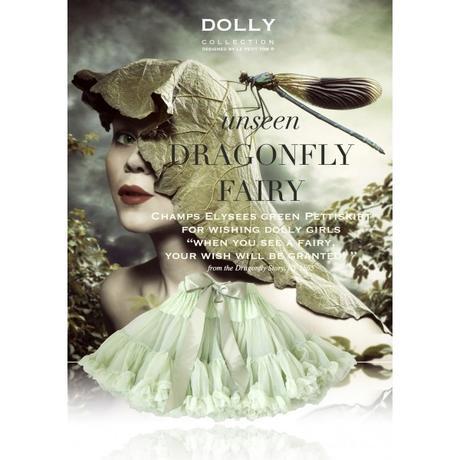 Novinka Dolly sukňa - Vážka - veľ. XL (38-42), XL