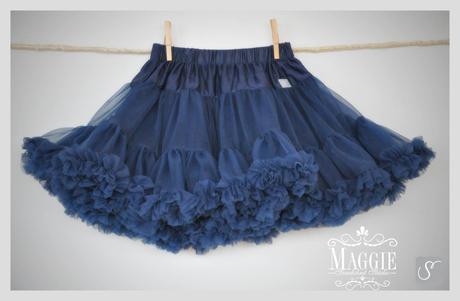 PETTI suknička - Marine blue - veľ.S (3-6rokov), 110