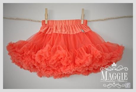 PETTI suknička - Poppy red - veľ.S (3-6rokov), 110