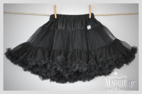 PETTI suknička - Simply black - veľ.XXL (40), XXL