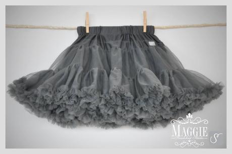 PETTI suknička - Smokey grey - veľ.M (32-34), 34