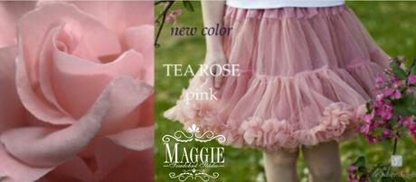 PETTI suknička - Tea rose - veľ.L (34-36), L