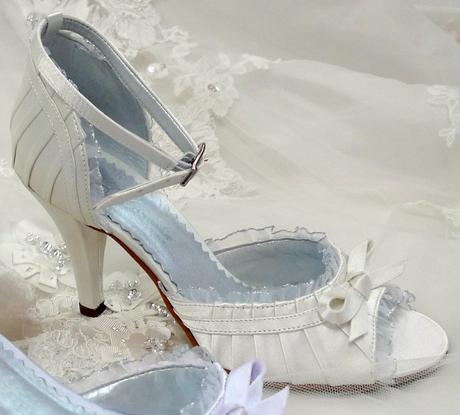 Svadobné topánky -posledný pár- veľkosť 35, 37
