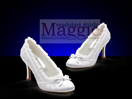 topánky biele - veľkosti 36-41, 37