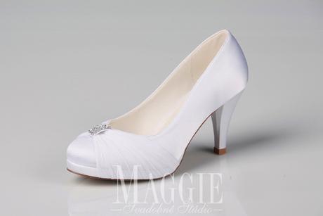 Topánky Hannah biele - veľkosti 35-40, 36