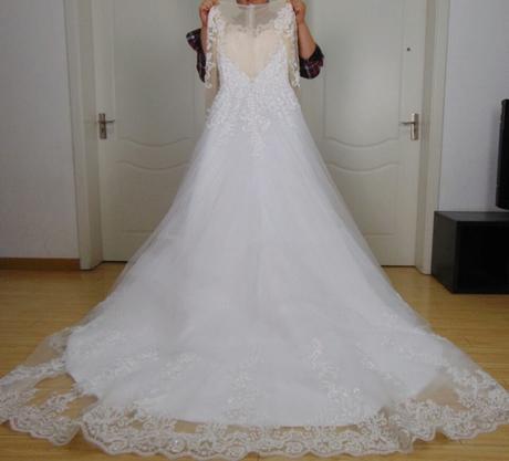 Svadobné šaty-nové, 42
