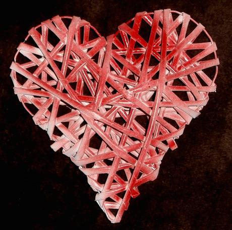 Srdce na dekoraci, svatební dekorace,