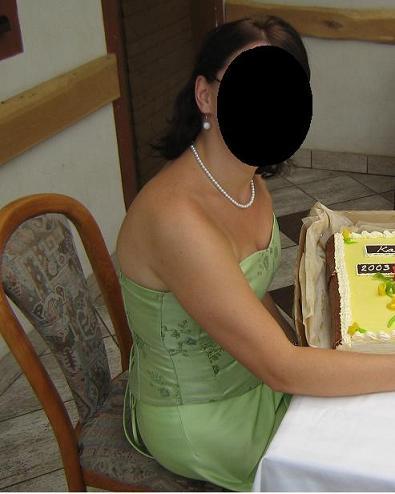 Zelené šaty - poštovné v cene, 40