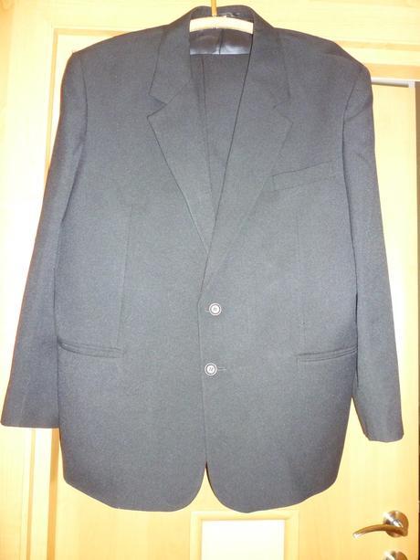 Čierny oblek XXL/56, XXL