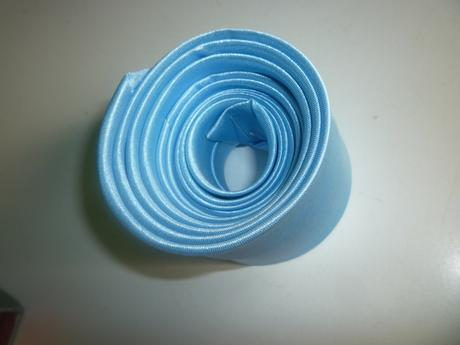 Slim kravata svetlomodrá, baby blue,