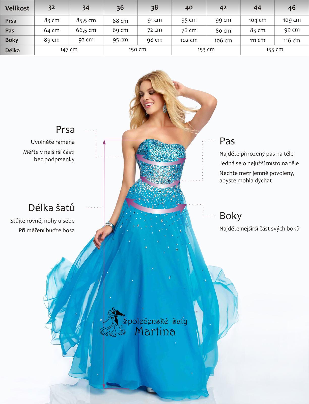 Společenské-maturitní-plesové šaty-do tanečních 45c2684fb0