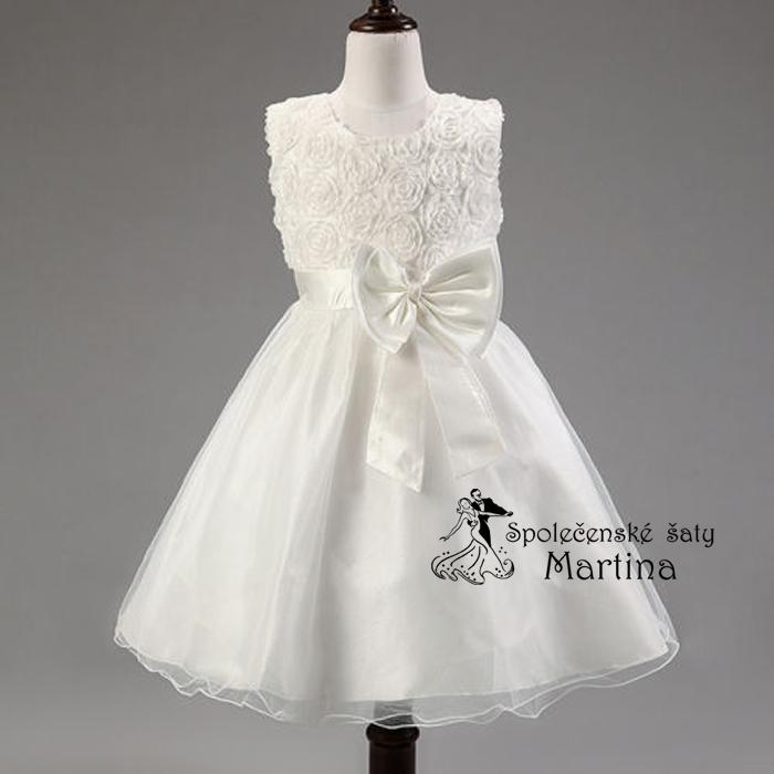 f991ea33e95 Společenské šaty pro družičku 2-10 let