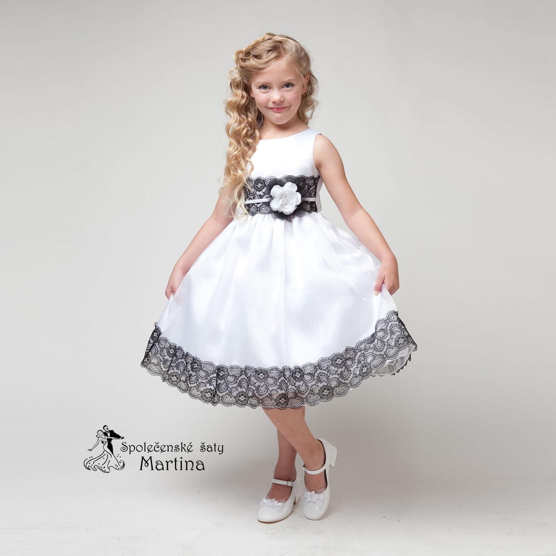 8dd4cdbeb1b4 Společenské šaty pro družičku 4-9 let