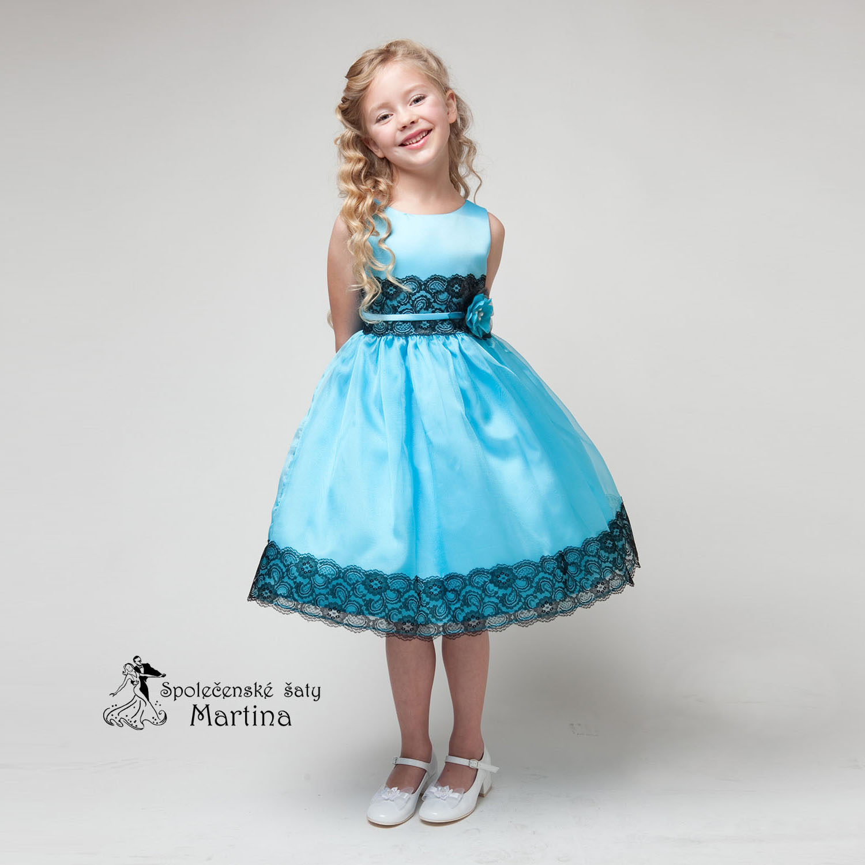 19ec054b545 Společenské šaty pro družičku 4-9 let
