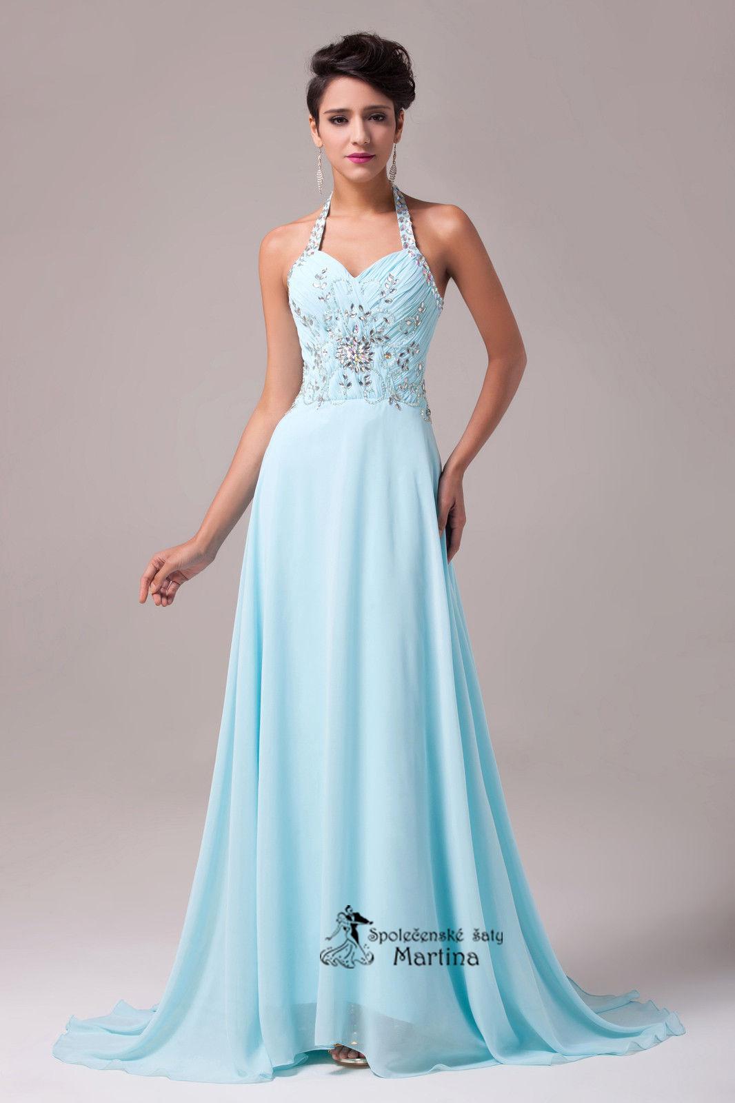 Svatební šaty bledě modré  c372a5c1e40
