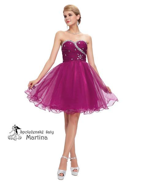 Maturitní šaty-pro družičky-do tanečních, 38