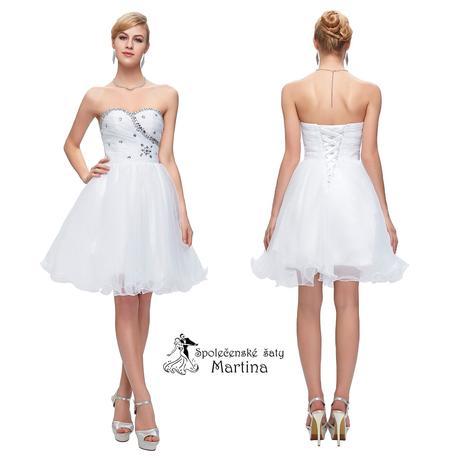 Maturitní šaty-pro družičky-do tanečních, 40