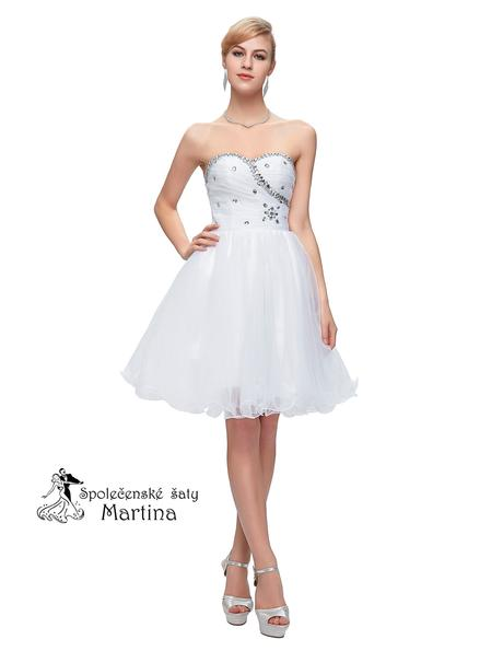 Maturitní šaty-pro družičky-do tanečních, 46