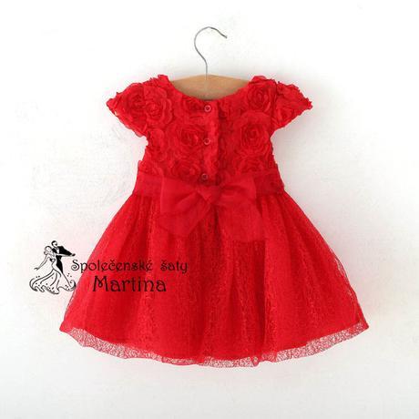 šaty pro družičku 0-2 roky, 80