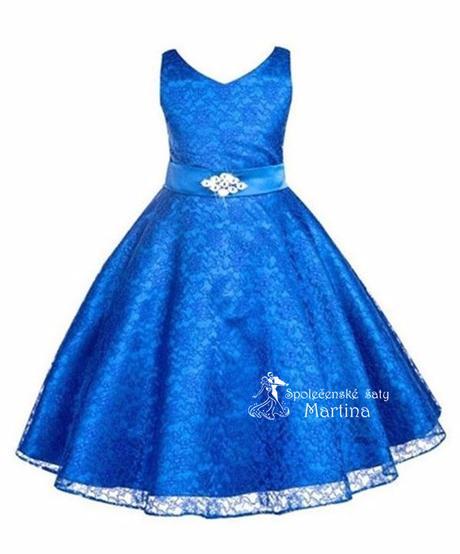 Šaty pro družičku 6-12 let, 128