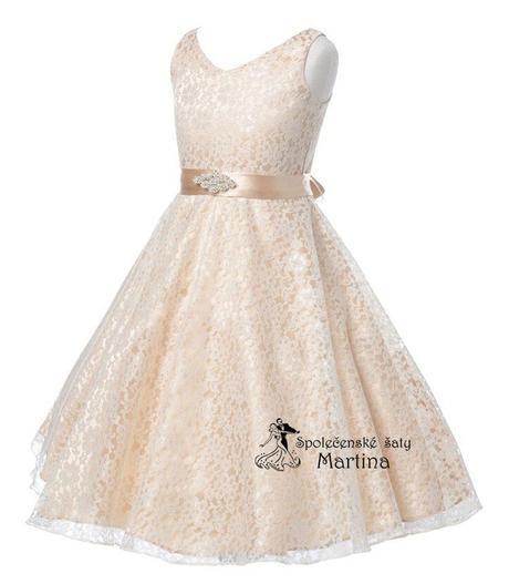 Šaty pro družičku 6-12 let, 134