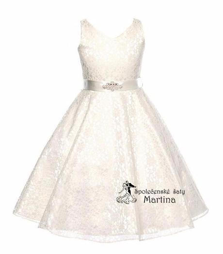 Šaty pro družičku 6-12 let, 140