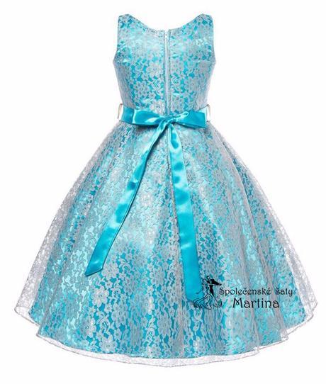 Šaty pro družičku 6-12 let, 146
