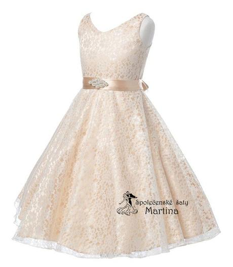 Šaty pro družičku 6-12 let, 152