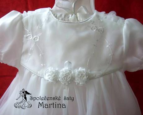 Šaty pro družičku i křest, 10 - 24 měs., 86